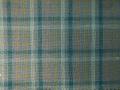 (先染)木綿着物「二重弁慶格子」Color.D(錆浅葱)