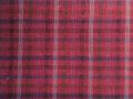 (先染)木綿着物「二重弁慶格子」Color.F(赤紅)