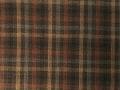 (先染)木綿着物「二重弁慶格子」Color.G(栗色)