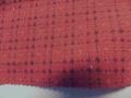 先染木綿着物「編格子」colorF