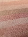 先染木綿羽織「山道縞color.B/櫻色」