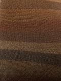 先染木綿羽織「山道縞color.G/枯葉」