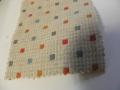 先染木綿着物「どろっぷ/オフホワイト」color.A