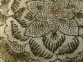 木綿和更紗「草花文様/生成(6254)」