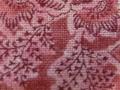 木綿和更紗「草花文様/桃色(6255)」