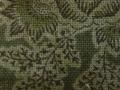 木綿和更紗「草花文様/緑色(6257)」