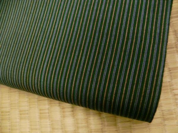 古渡唐桟木綿(グリーン系)