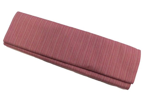 唐桟木綿[唐桟縞colorF:紅色/子持ち縞]
