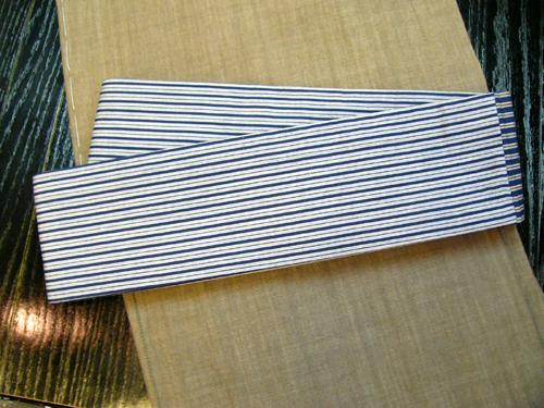 唐桟縞木綿角帯[TMKO_036]