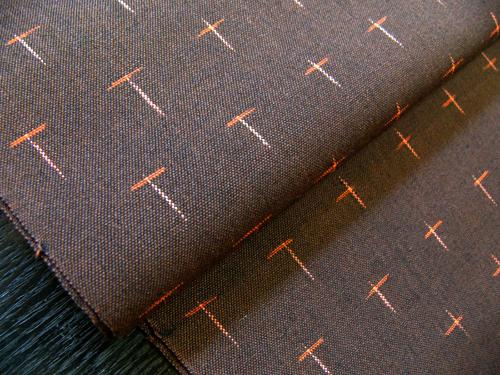 秋冬定番の着物スタイル「ウール着物」