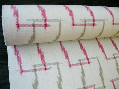手織り絣ウール